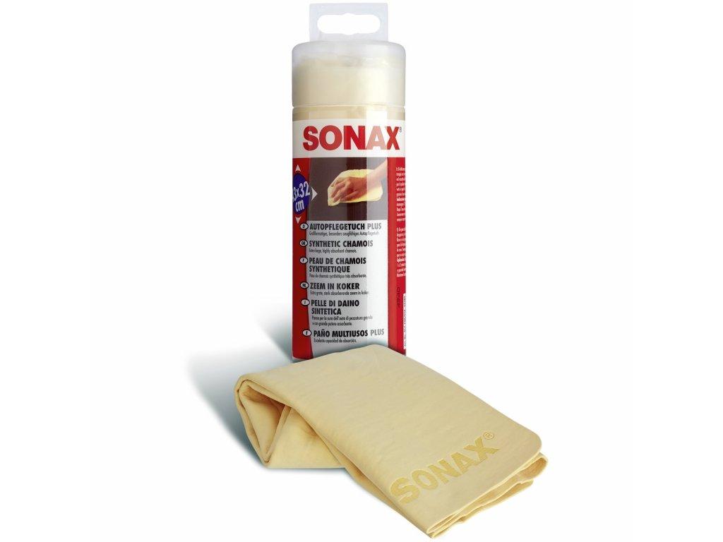 417700 sonax jelenice umela v plastovem obalu 43 x 32 cm