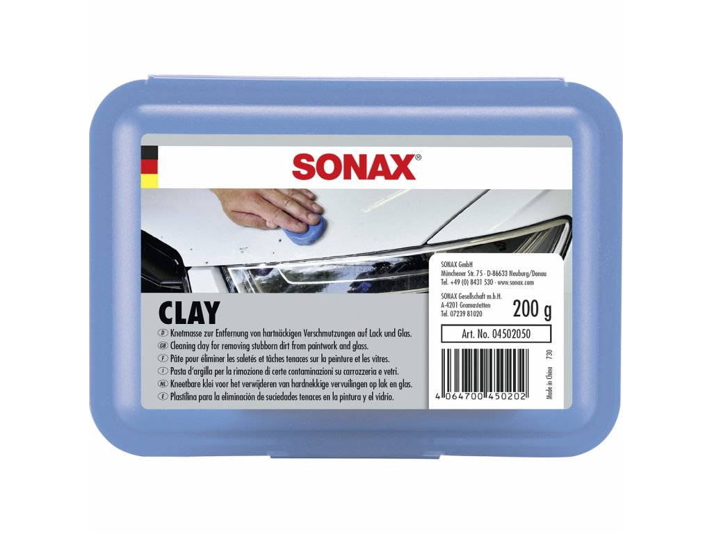 450205 sonax clay modelina na manualni dekontaminaci laku 200g