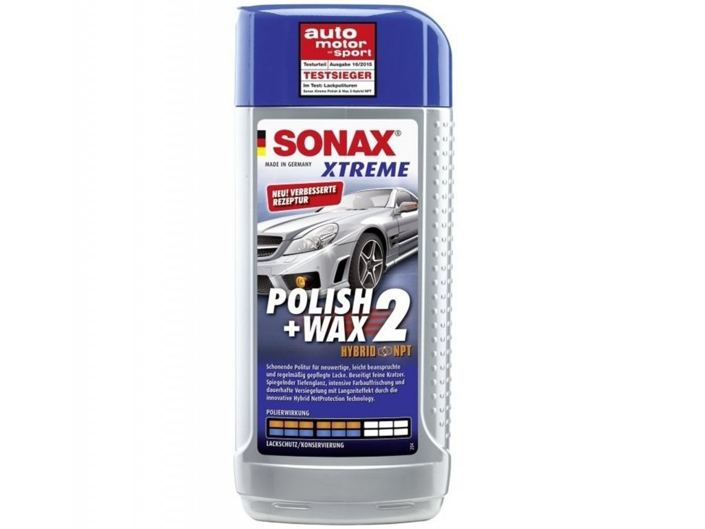 SONAX XTREME Polish & Wax 2 250ml