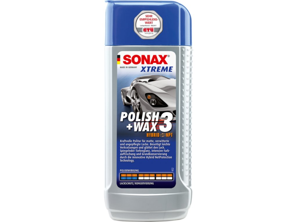 SONAX XTREME Polish & Wax 3 250ml
