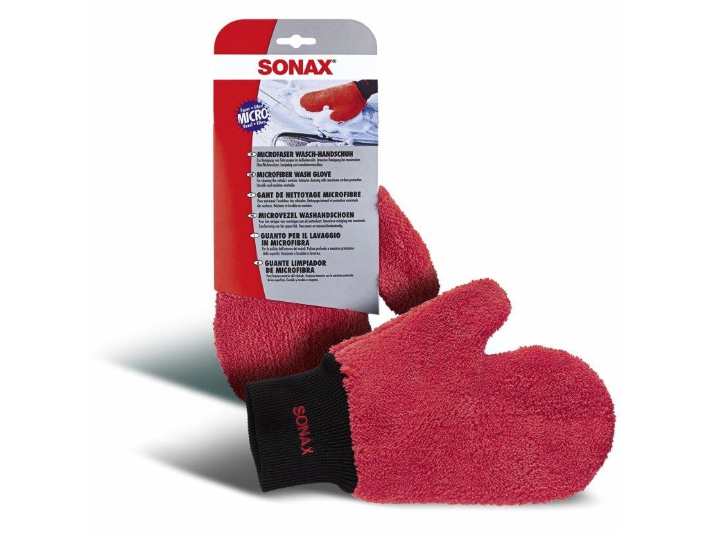 428200 sonax myci rukavice z mikrovlakna