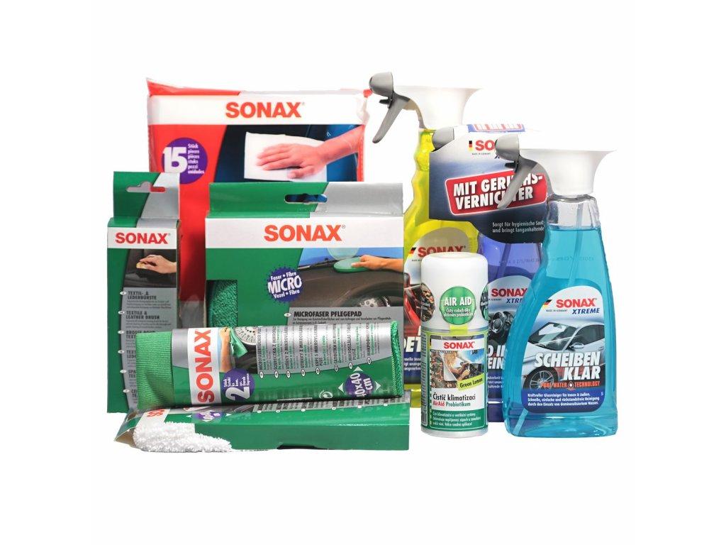 Dárkový balíček SONAX XTREME určený pro textilní interiér