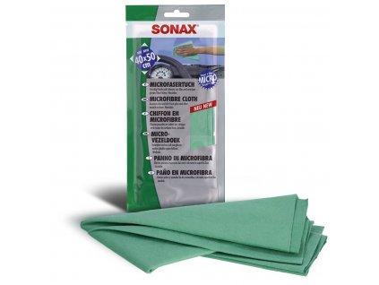 416100 sonax univerzalni uterka z mikrovlakna 40x50 cm 1ks
