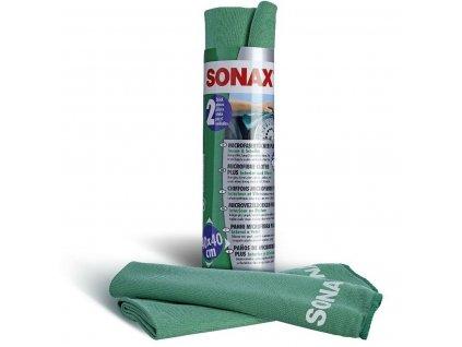416541 sonax uterky z mikrovlakna na interier a skla 2ks