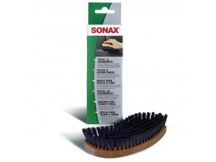 416741 sonax kartac na cisteni textilu a kuze
