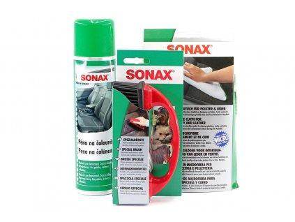 Dárkový set SONAX zvíře v autě START