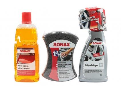 Dárkový set autokosmetiky SONAX varianta start