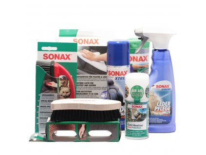 Dárkový balíček autokosmetiky SONAX zvíře v autě