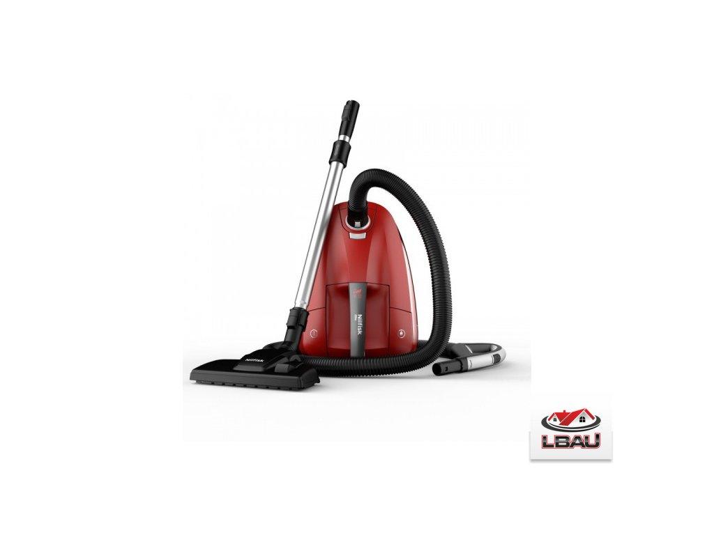 Nilfisk ELITE RCL14E08A2 Červená farba 128350554 - Antialergický vysávač s filtrom HEPA 14