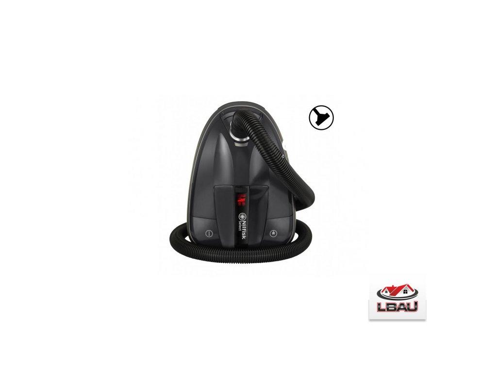 Nilfisk Select BLSU13P08A1 - Čierna farba 128350612 - Kvalitný vysávač pre domácnosť s filtrom HEPA 13