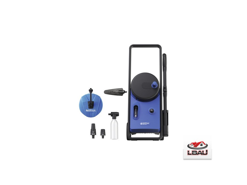 Nilfisk Core 140-6 PowerControl Patio 128471305 - Vysokotlakový čistič, Wapka,wap