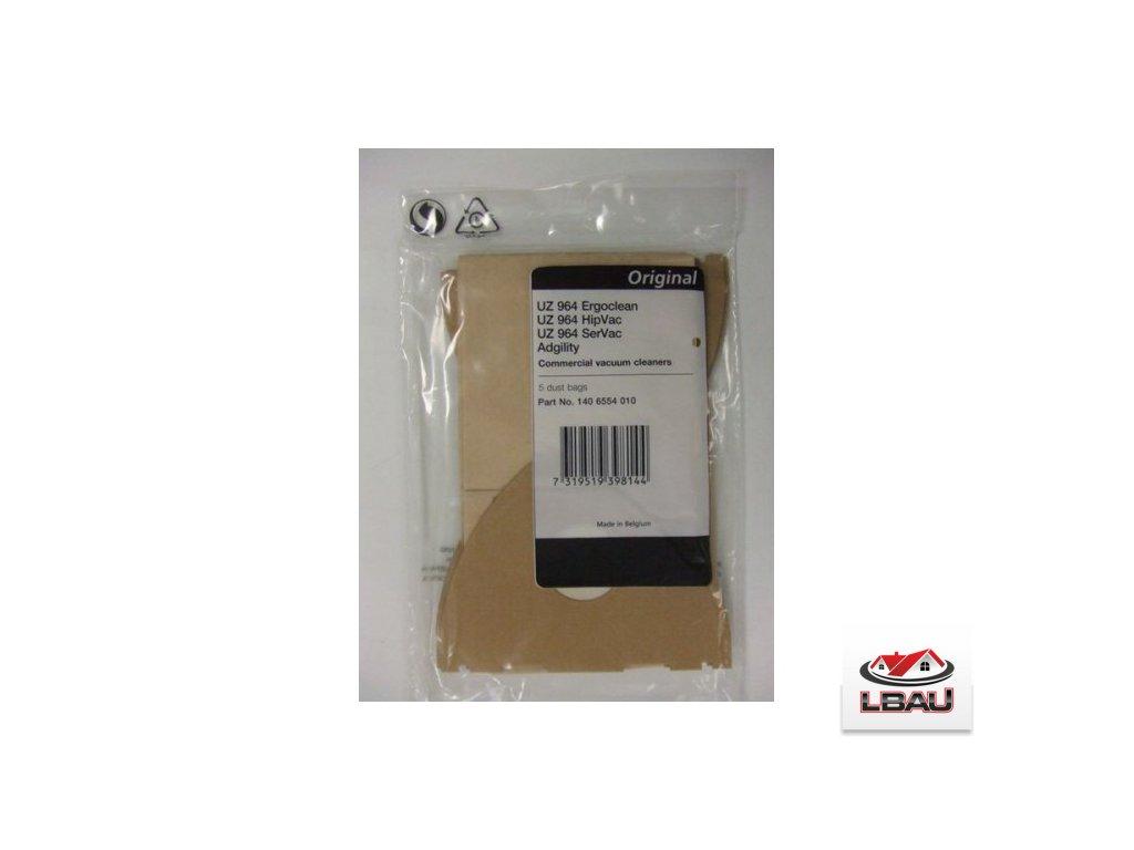 Nilfisk filtračné vrecká papierové 5ks pre vysávače UZ934  1406554010