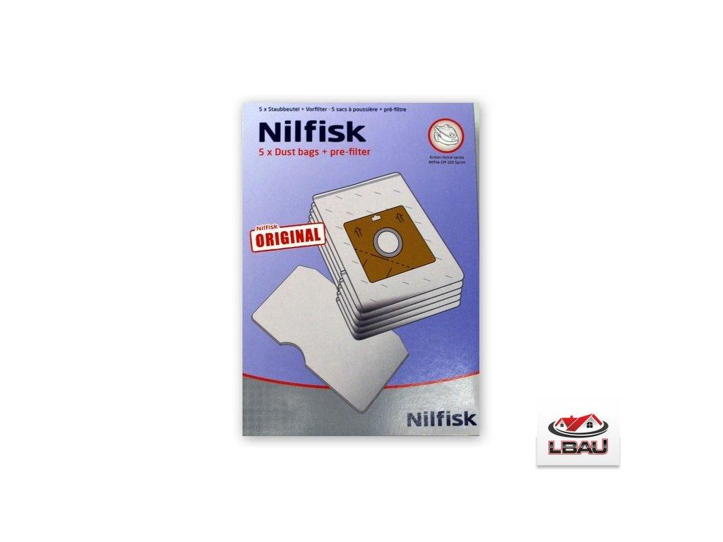 Nilfisk Sáčky na nečistoty 5ks Nilfisk Bravo a Action 30050002