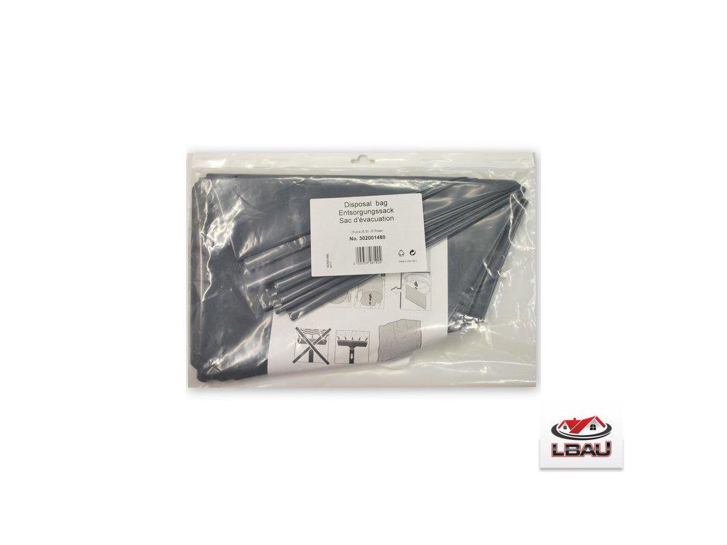 Nilfisk odpadné sáčky plastové  5ks 302001480 pre vysávače Nilfisk ATTIX 7/9 a IVB 7/9