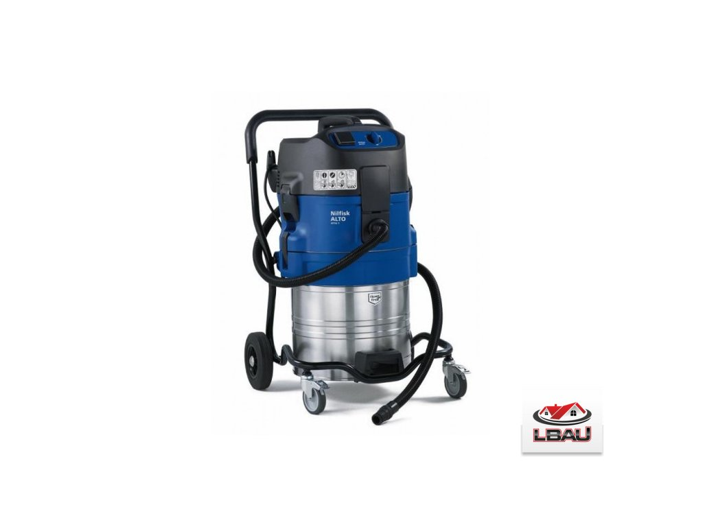 Nilfisk ATTIX 751-21 302001525 - Priemyselný mokrosuchý vysávač WAP