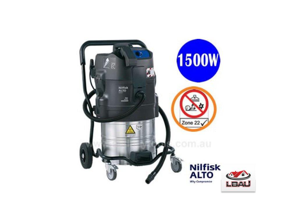Nilfisk ATTIX 791-2M/B1 302001537 - Priemyselný bezpečnostný vysávač ATEX Zóna 22 Z22