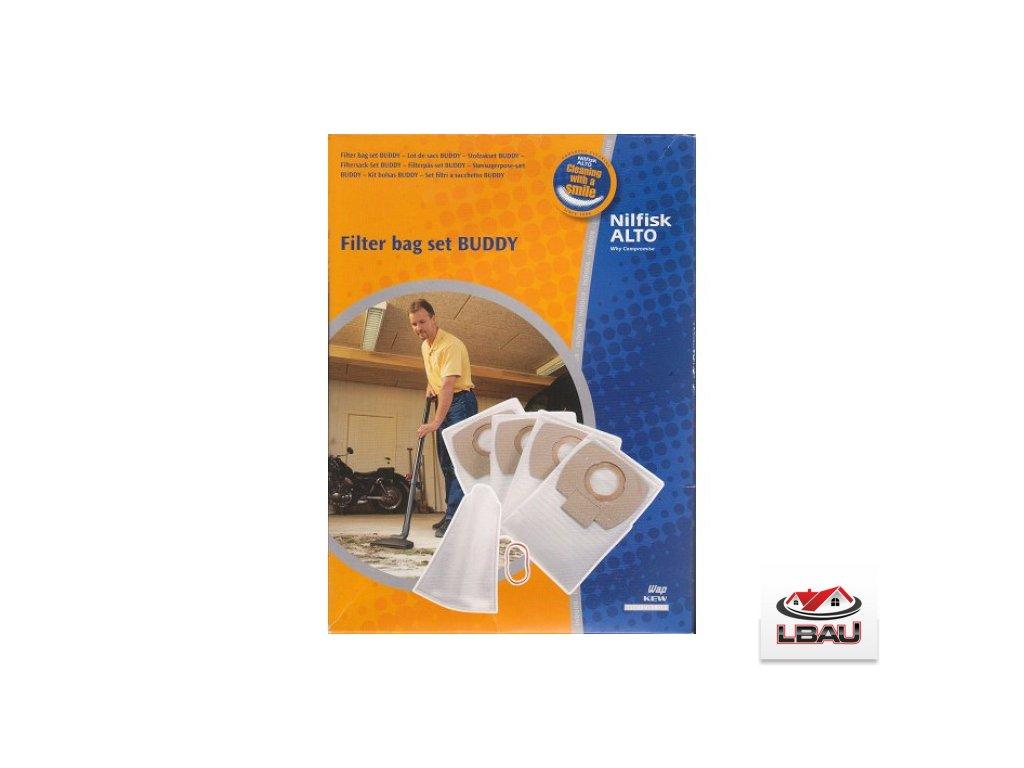 Filtračné vrecká BUDDY I sada 4+1 Nilfisk 302002403