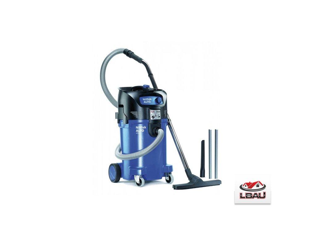 Nilfisk ATTIX 50-01 PC 302003411 - Jednomotorový mokro-suchý vysávač s el. zásuvkou na náradie
