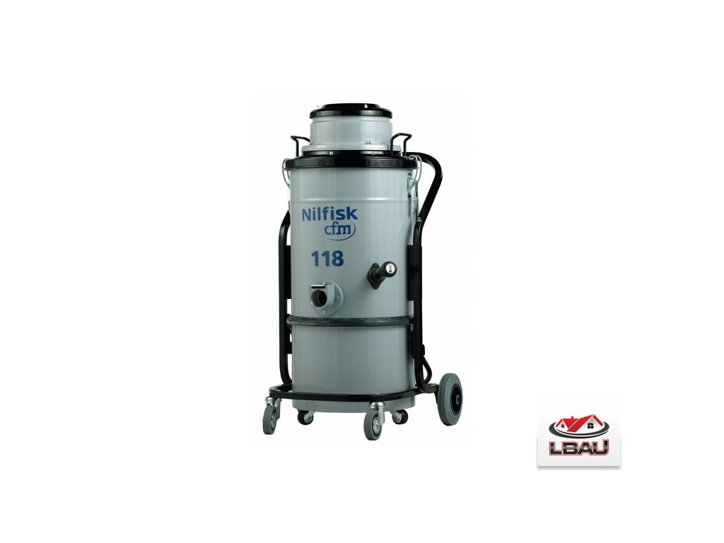 Nilfisk 118 X 4010100035 - Jednofázový jednomotorový priemyselný vysávač