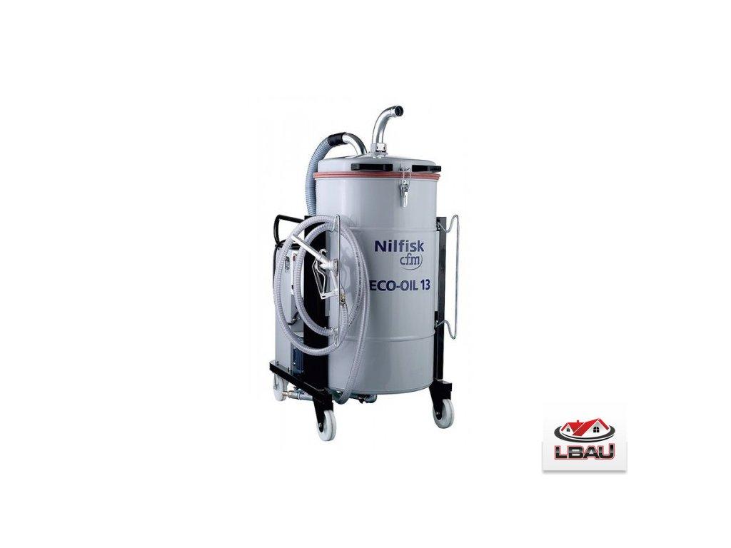 Nilfisk ECOIL 13 4010400001 - Jednofázový vysávač na vysávanie olejov
