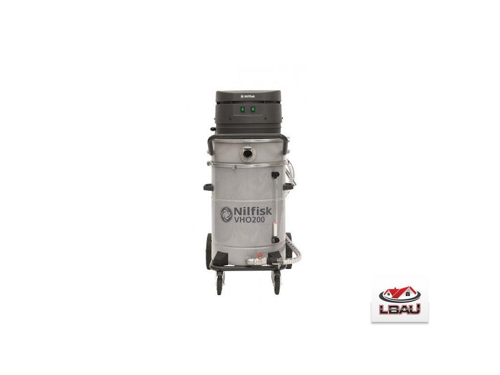 Nilfisk VHO 200 + kôš na triesky 4010400037A - Jednofázový priemyselný vysávač na kvapaliny a emulzie