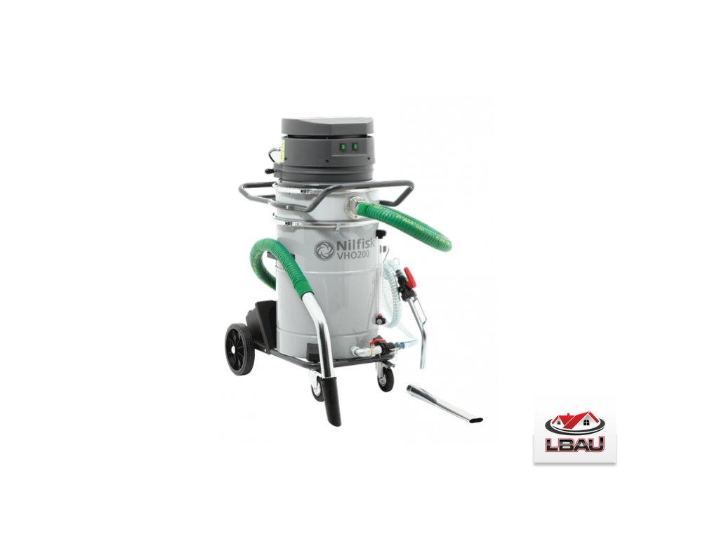 Nilfisk VHO200CB - Jednofázový dvojmotorový vysávač pre vysávanie olejov 4010400054