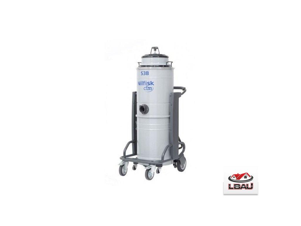 Nilfisk S3B L100 FM 4010500041 - Jednofázový trojmotorový priemyselný vysávač