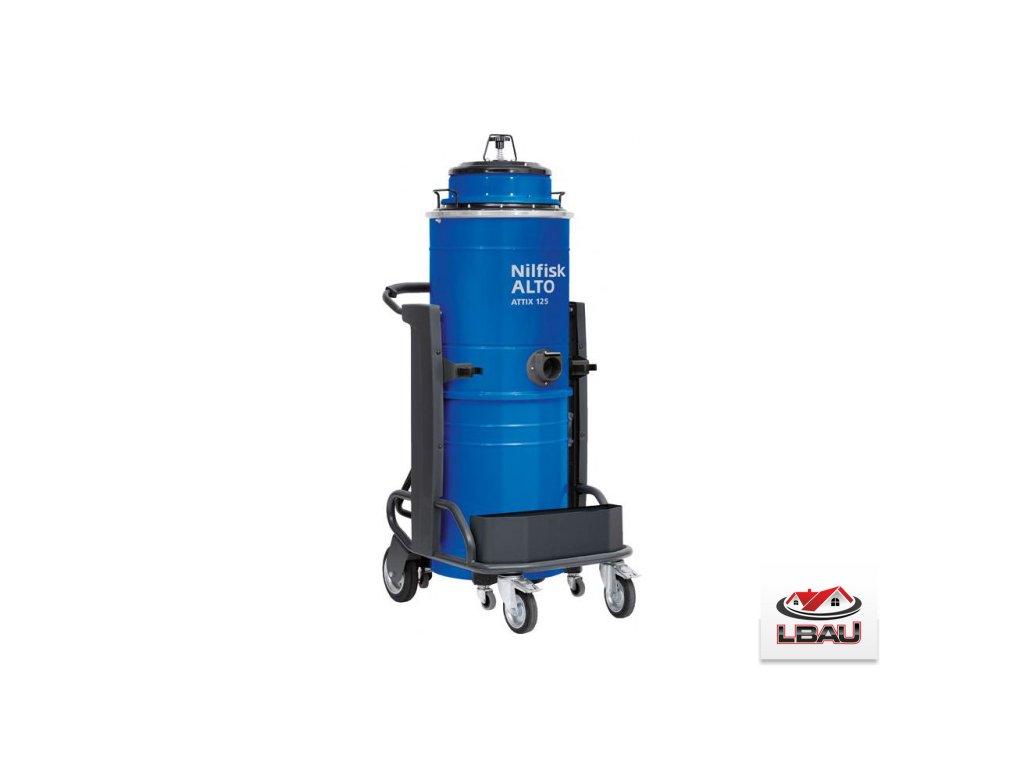 Nilfisk ATTIX 115-01 4010500044 - Priemyselný jednofázový trojmotorový mokrosuchý vysávač WAP
