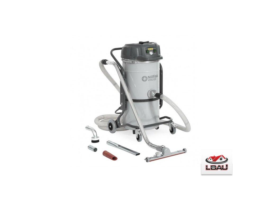 Nilfisk VHS120 General Cleaning All-in-one - Jednofázový dvojmotorový priemyselný vysávač 4012300068