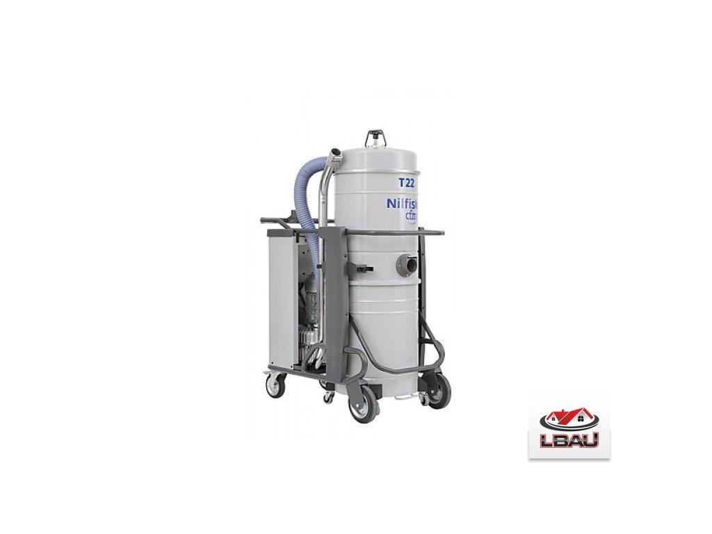 Nilfisk T22 L100 AU 5PP 4030500085  - Trojfázový priemyselný vysávač