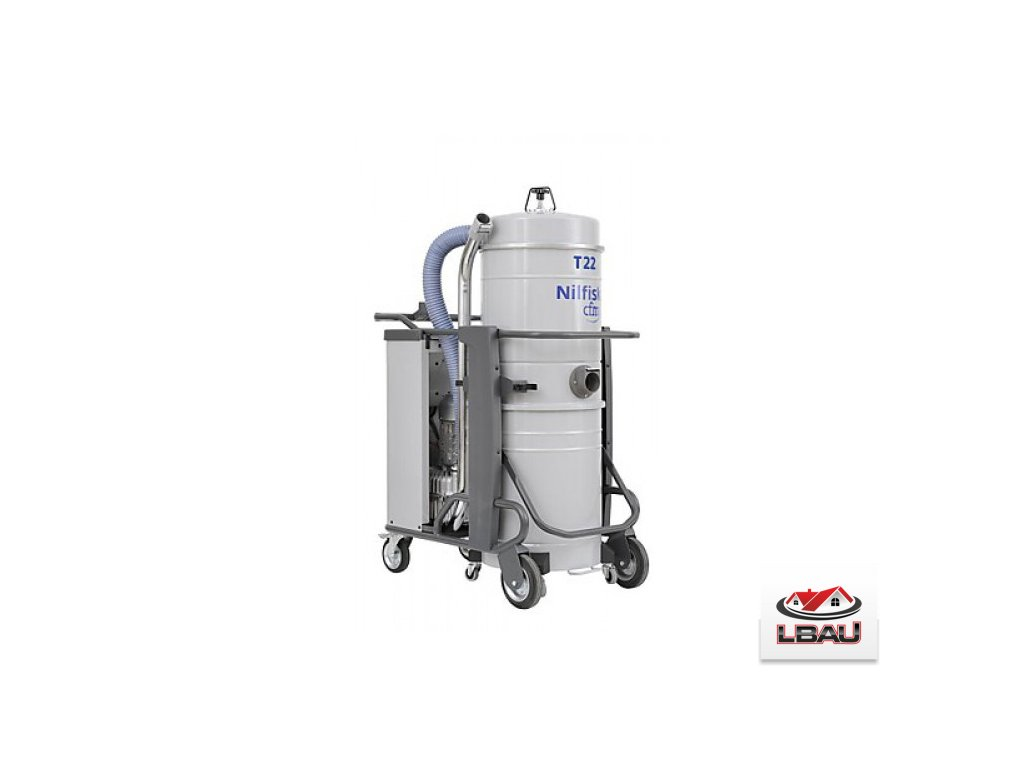 Nilfisk T22 L50 AU 5PP 4030500086 - Trojfázový priemyselný vysávač