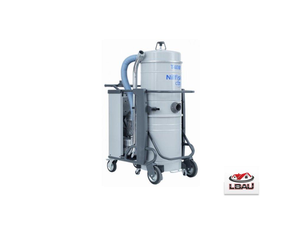Nilfisk T40W L100 CC 5PP 4030500101 - Trojfázový priemyselný vysávač