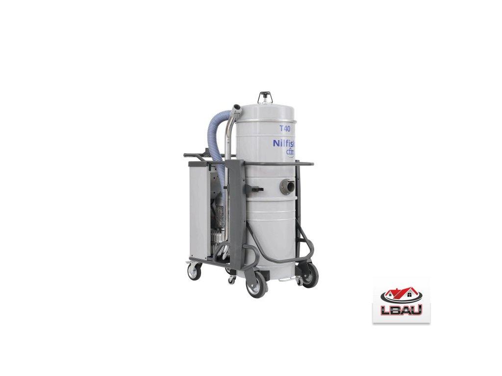Nilfisk T40 L100 GV CC 4030500106 - Trojfázový priemyselný vysávač