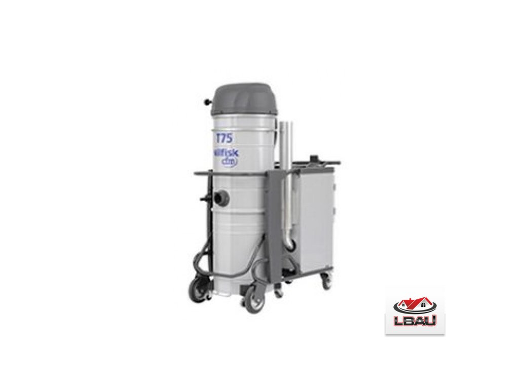 Nilfisk T75 L100 SE FM 4030500120 - Priemyselný trojfázový vysávač