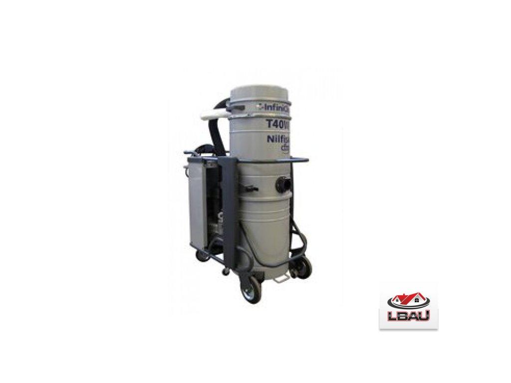 Nilfisk T40W IC L100 5PP 4030500191 - Trojfázový priemyselný vysávač s automatickým čistením filtrov
