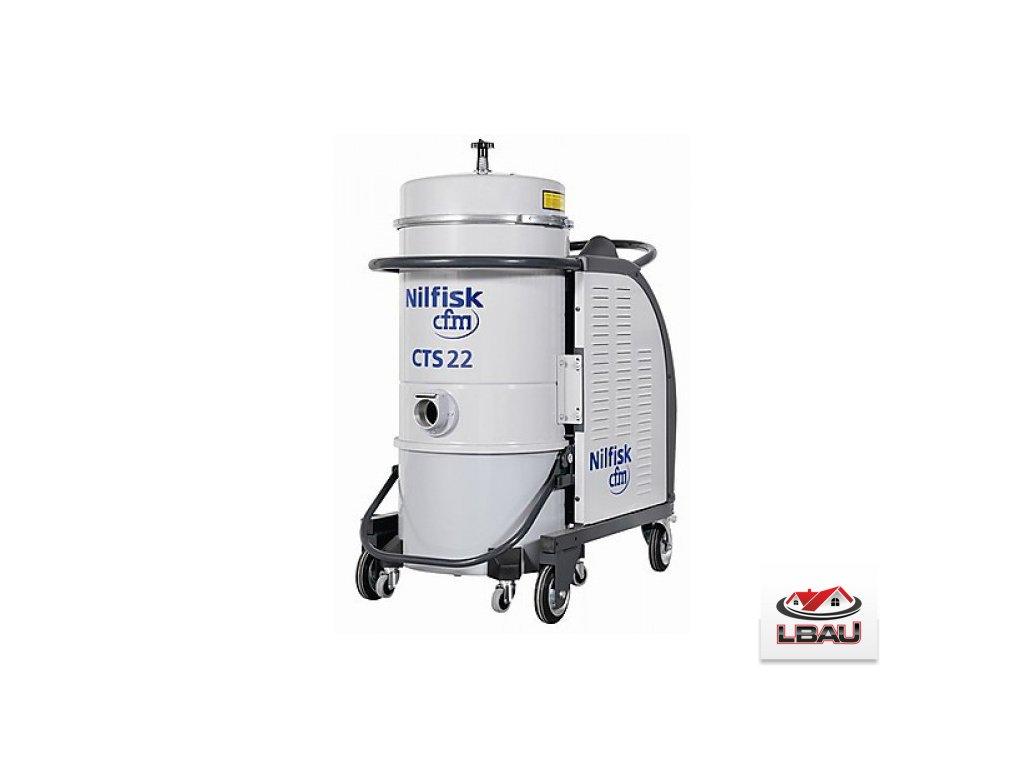 Nilfisk CTS22 MC SBS 5PP 4030600046 - Trojfázový priemyselný vysávač