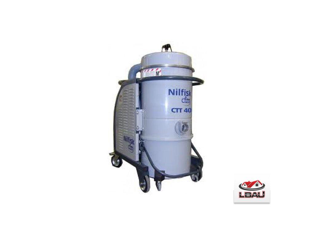 Nilfisk CTS40 MC SBS 5PP 4030600048 - Trojfázový priemyselný bezpečnostný vysávač triedy M