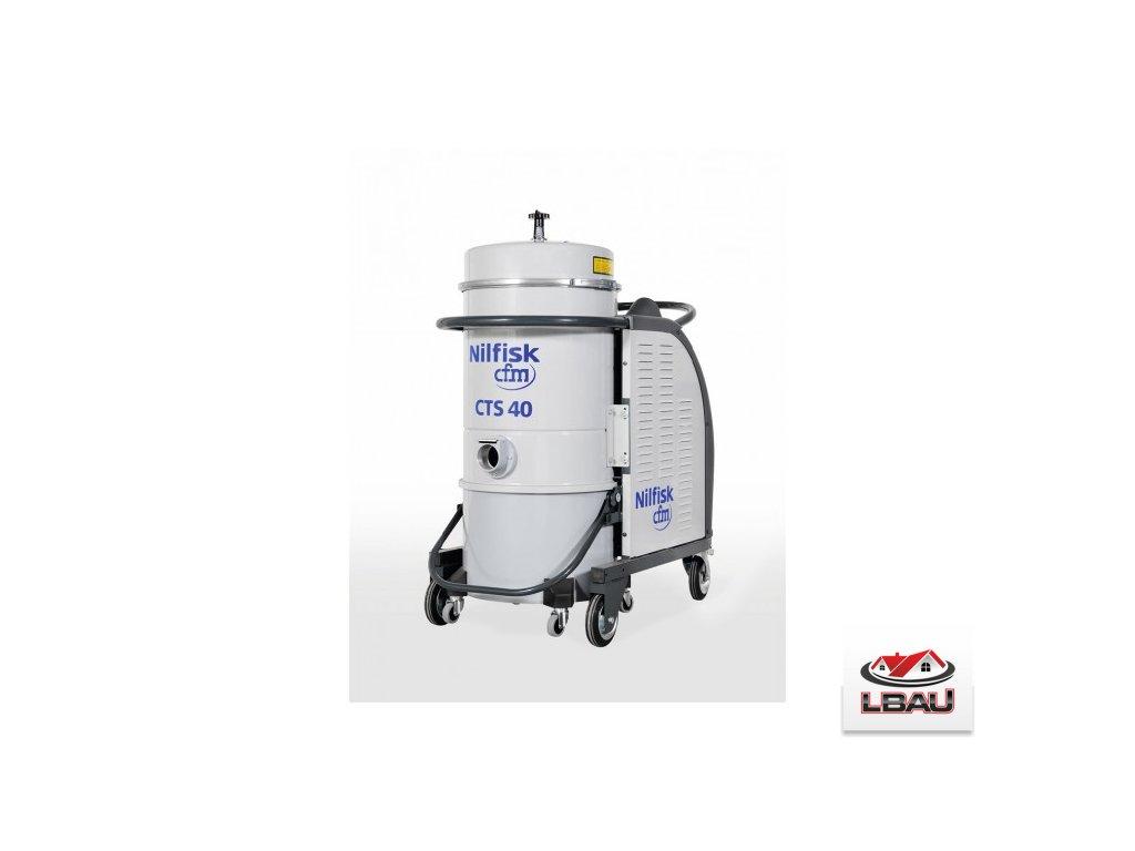Nilfisk CTS40 HC 5PP 4030600056 - Trojfázový priemyselný bezpečnostný vysávač triedy H