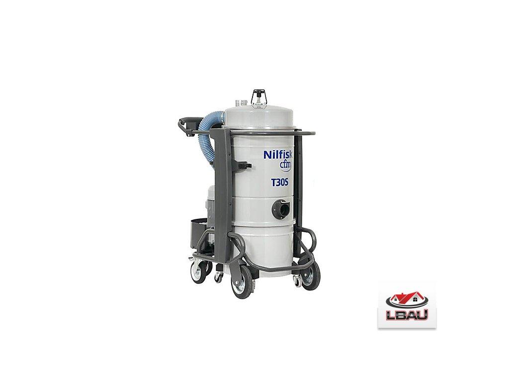 Nilfisk T30S L100 4030600083 - Trojfázový priemyselný vysávač
