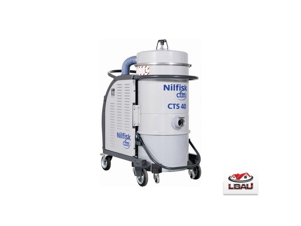 Nilfisk CTS40 LC X 5PP 4030600106 - Trojfázový priemyselný vysávač triedy L
