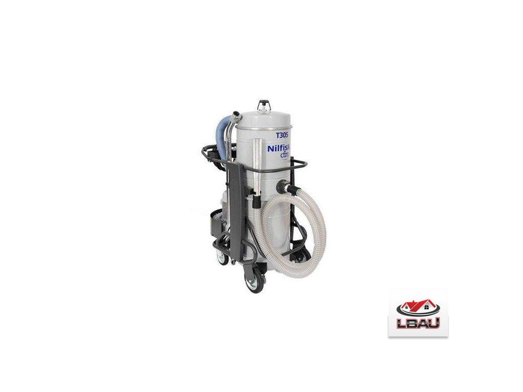 Nilfisk T30S L50 FM 4030600112 - Trojfázový priemyselný bezpečnostný vysávač triedy H