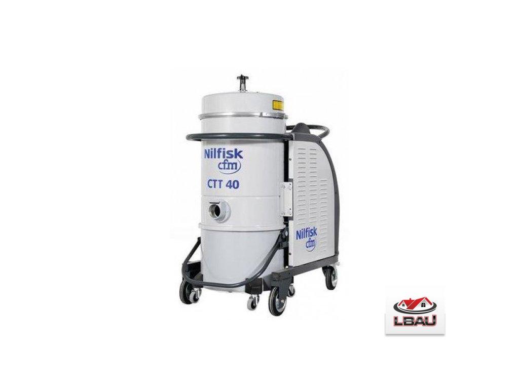 Nilfisk CTT40 HC XX 4030600142 - Trojfázový priemyselný bezpečnostný vysávač triedy H