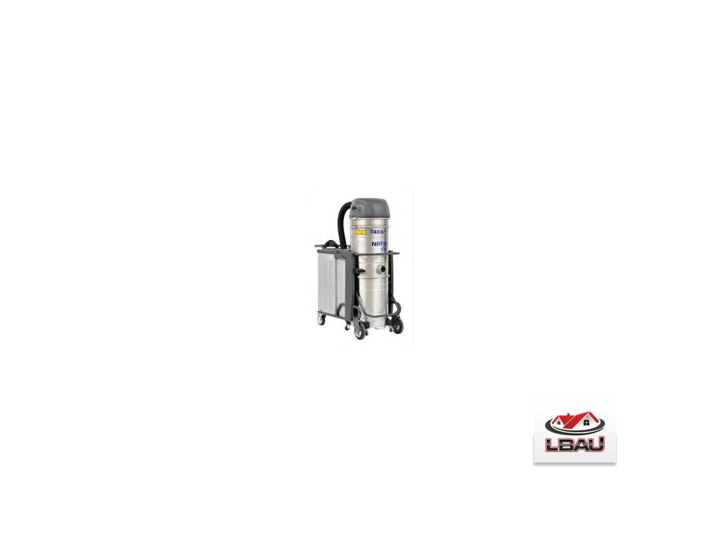 Nilfisk T40WPLUS L100 LC X 5PP 4030800409 - Priemyselný trojfázový vysávač