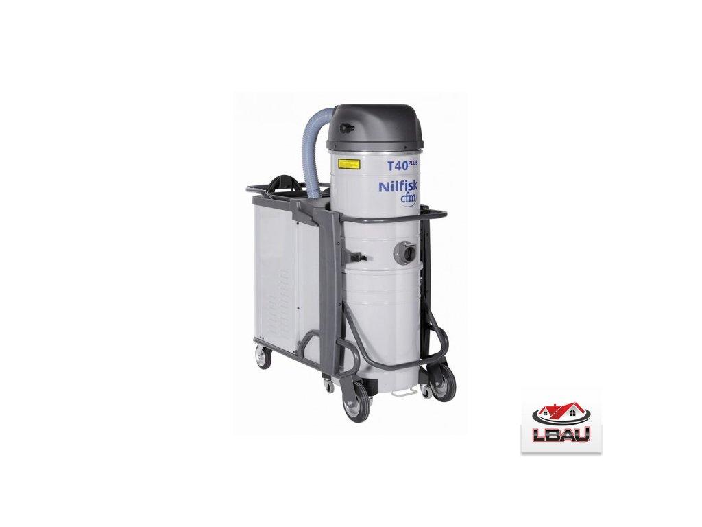 Nilfisk T40PLUS L100 LC GV  CC X 5PP 4030800449 - Priemyselný trojfázový vysávač na kvapaliny