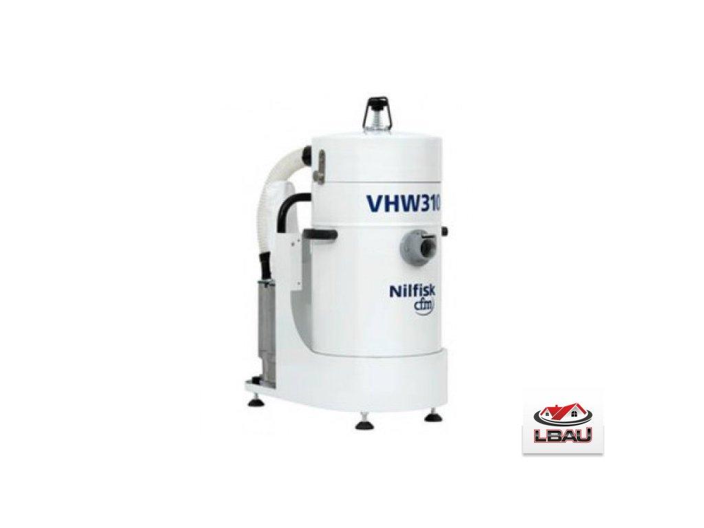 Nilfisk VHW310 AD 4041100305 - Priemyselný trojfázový vysávač s výstupným HEPA filtrom
