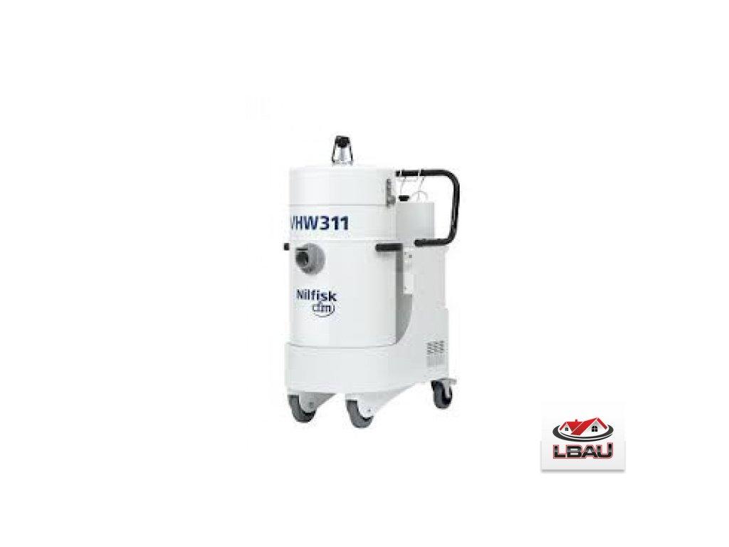 Nilfisk VHW311 T AU 4041100310 - Priemyselný trojfázový vysávač so vstupným HEPA filtrom