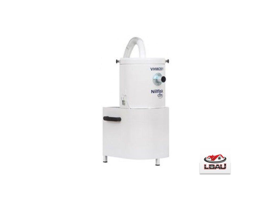 Nilfisk VHW201 AD 4041100395 - Priemyselný trojfázový vysávač s výstupným HEPA filtrom