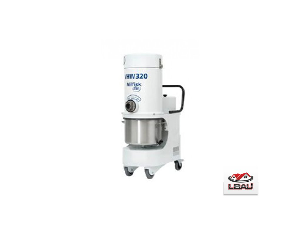 Nilisk VHW320 LC AD 4041200374 - Priemyselný trojfázový vysávač s výstupným HEPA filtrom