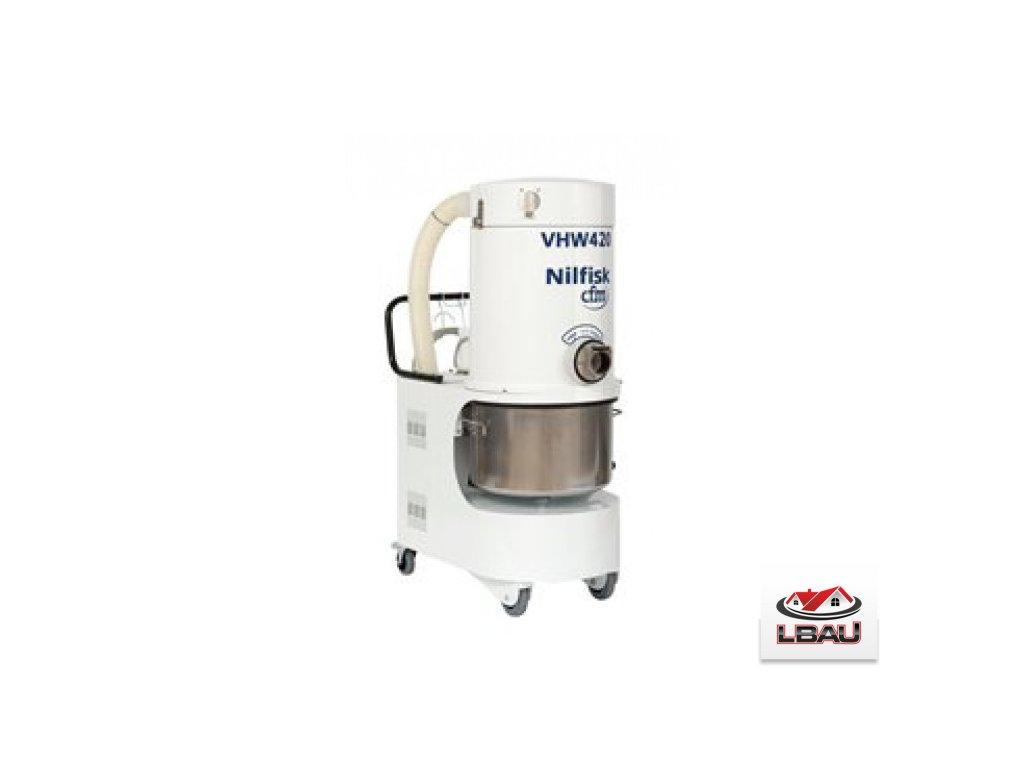 Nilfisk VHW420 XX 4041200442 - Priemyselný trojfázový vysávač z nerezovej oceľe