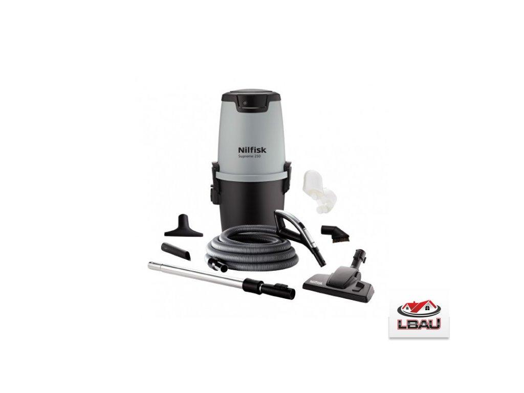 Nilfisk ALL-IN-1 Supreme 250 Wireless+  Centrálny vysávač 42000504